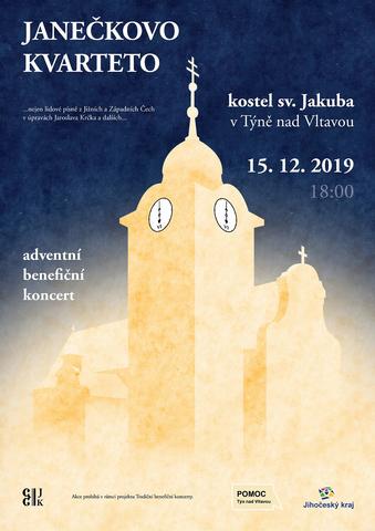 Adventní benefiční koncert 2019