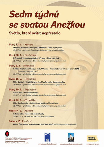 Sedm týdnů se svatou Anežkou